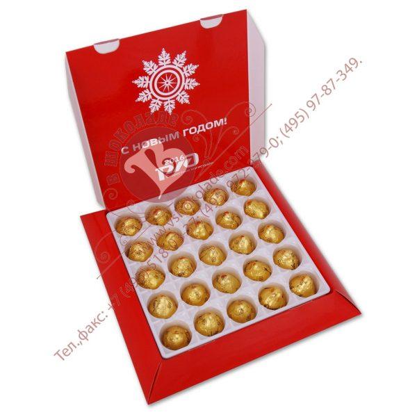 25 шоколадных конфет