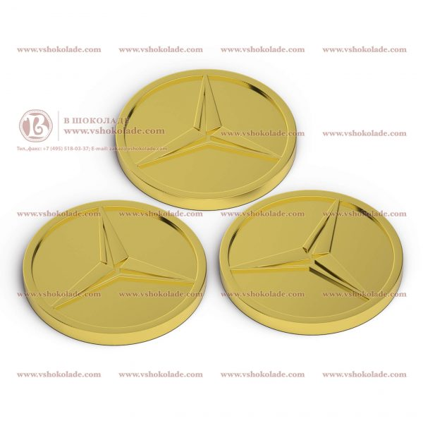 Монета 6 гр с логотипом заказчика
