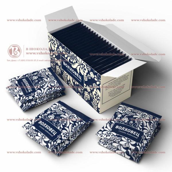 Чай с логотипом заказчика в брендированной пачке
