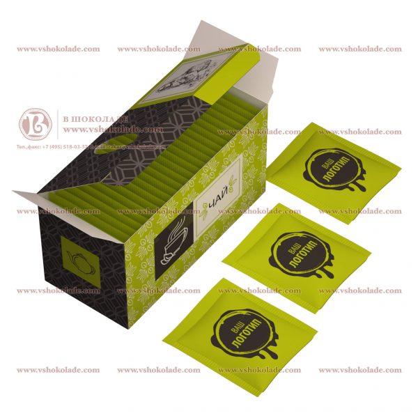 Чай с логотипом 25 шт