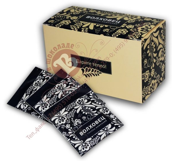 Чай с логотипом в групповой упаковке