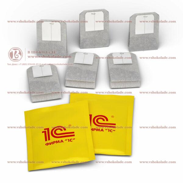 Чай с логотипом в индивидуальной упаковке