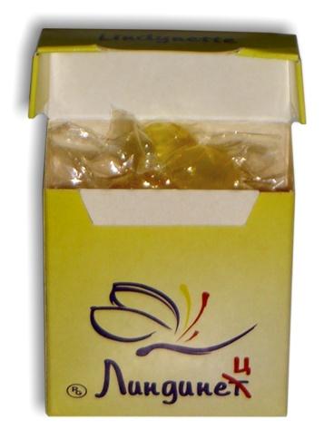 Карамель с логотипом в картонной коробке