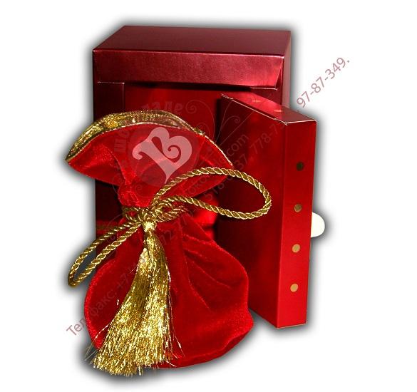 Мешок с золотыми монетами в сейфе Valberg