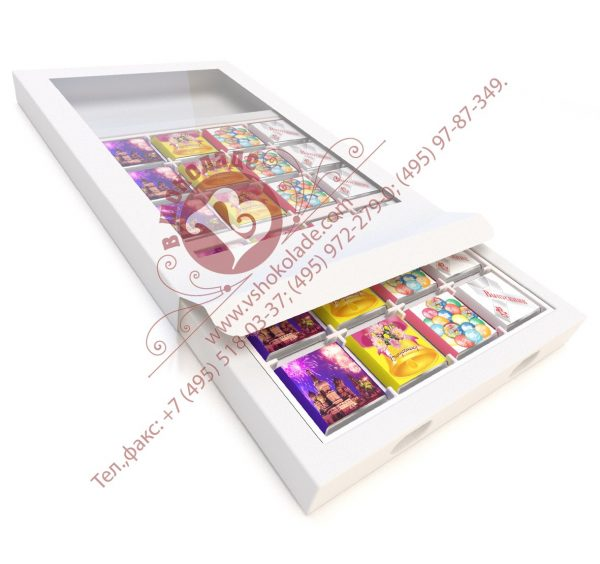 Набор из 24 шоколадок по 5 грамм на выпускной