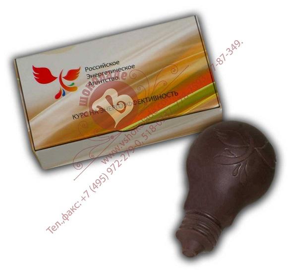 Российское энергетическое агентство шоколадный барельеф