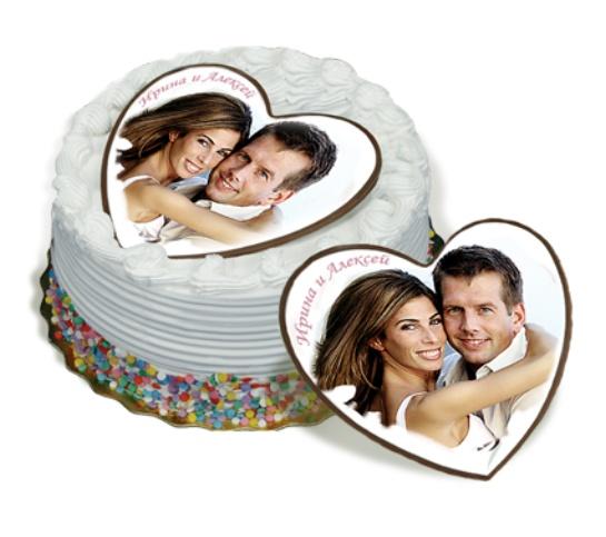 Сердечко для торта