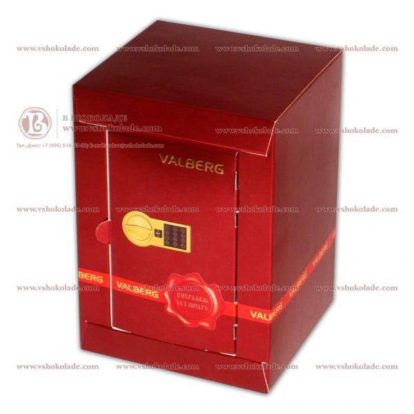 Мешок с золотыми монетами в сейфе с Вашим логотипом