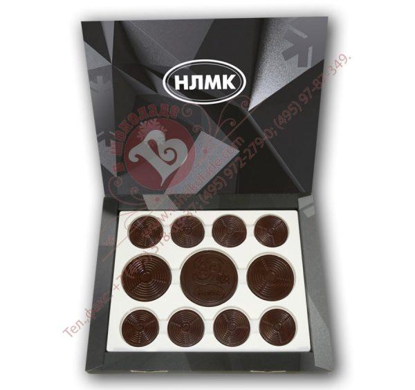 шоколадные барельефы в виде проката стали