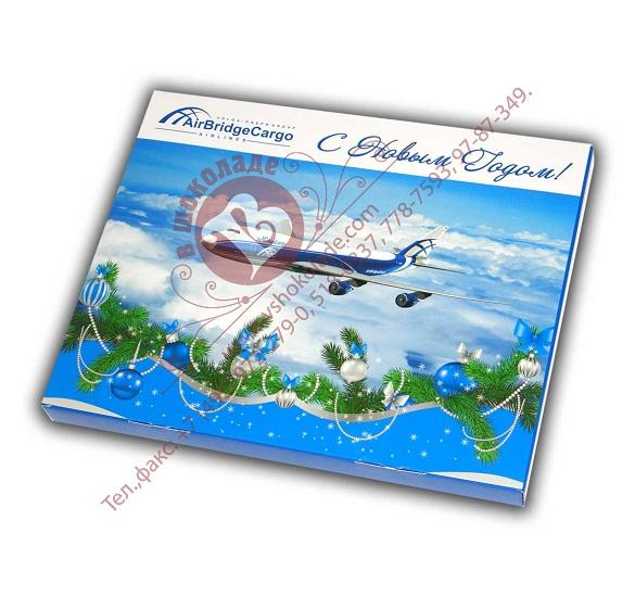 Шоколадный барельеф AirBridgeCargo Airlines