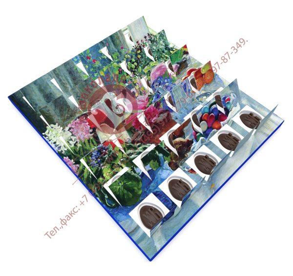 Шоколадный пасхальный календарь