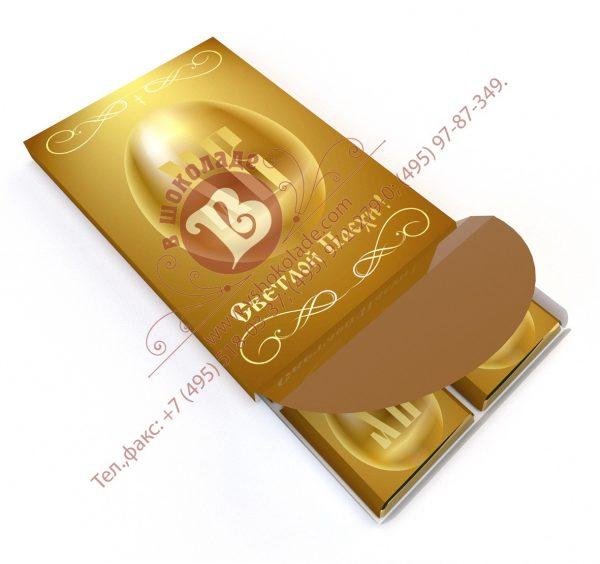Шоколадный пасхальный набор из 6 шоколадок