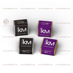 Кубик шоколада с логотипом клиента 7,5 г
