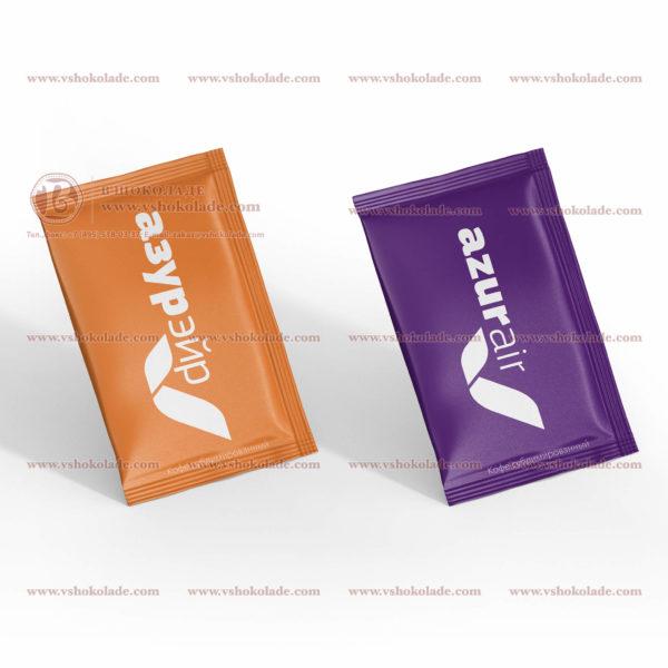 Кофе с логотипом, вес 2 г., в упаковке пакетик