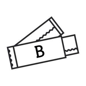Классическая жевательная резинка с логотипом