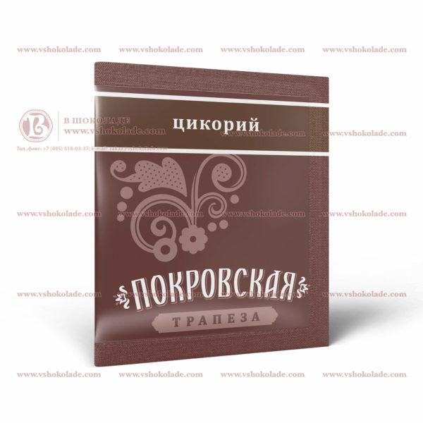 "Цикорий с логотипом заказчика в упаковке ""сашет"""
