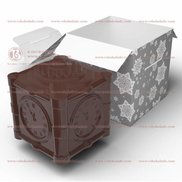 """Шоколадная фигурка """"ёлочная игрушка 5 минут"""" в стиле СССР, весом 550 г"""