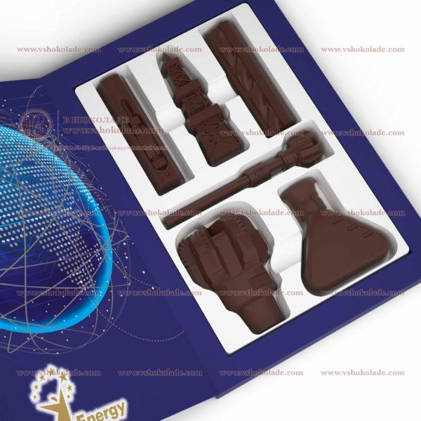 Набор шоколадных фигурок «ГЛОБАЛЬНАЯ ЭНЕРГИЯ»